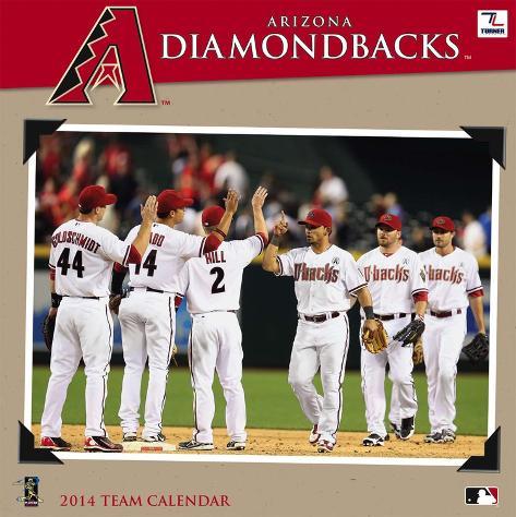 Arizona Diamondbacks - 2014 Calendar Calendars