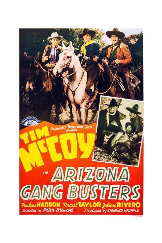 Arizona Gang Busters Giclee Print