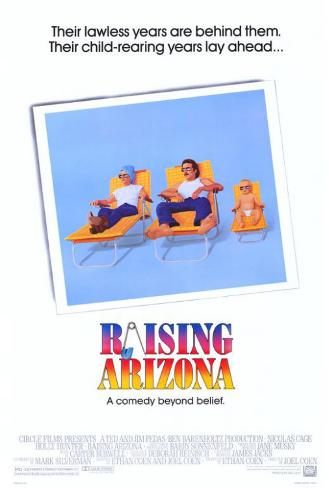 Arizona Nunca Mais Pôster