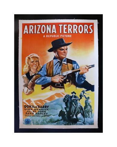 Arizona Terrors Giclee Print