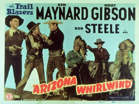 Arizona Whirlwind, 1944 Art Print