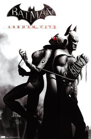 Arkham City - Catwoman Poster