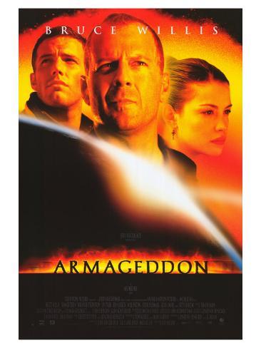 Armageddon, 1998 Stretched Canvas Print