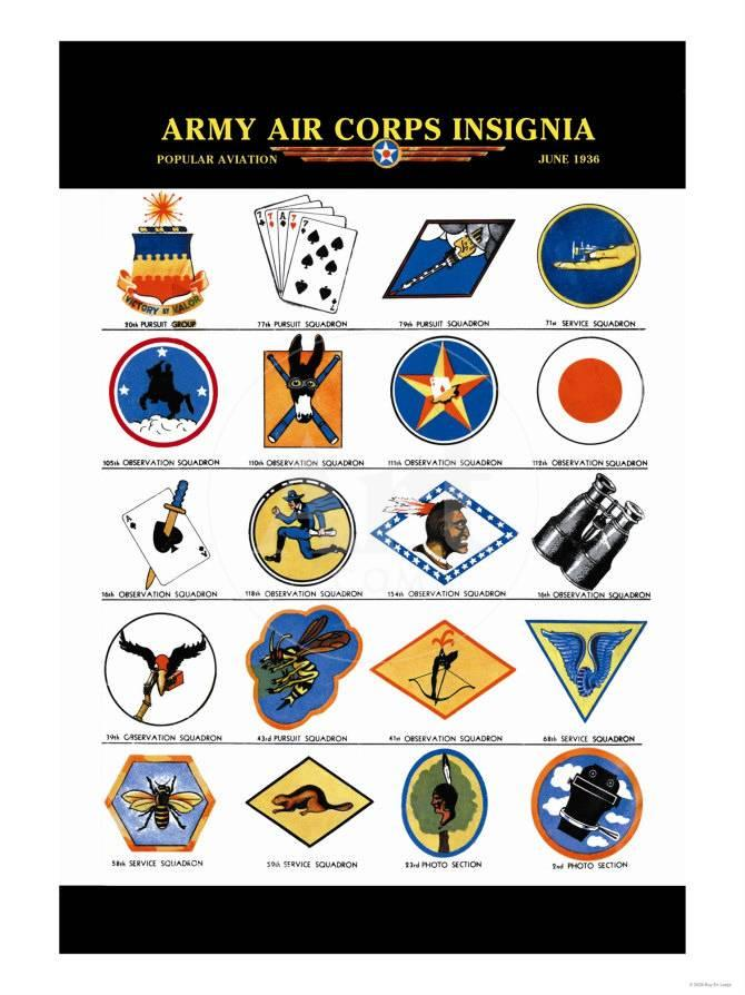 Army Air Corps Insignia
