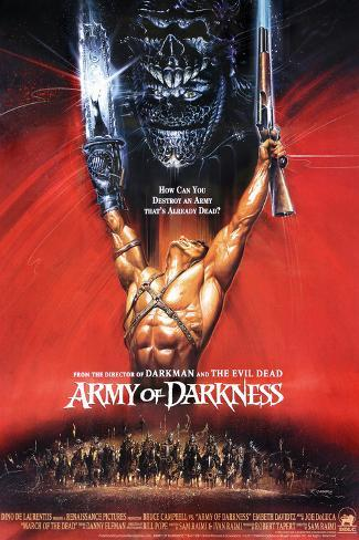 Army of Darkness, Bruce Campbell Poster