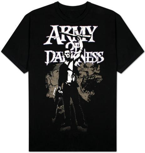 Army of Darkness - Distressed Skulls T-Shirt