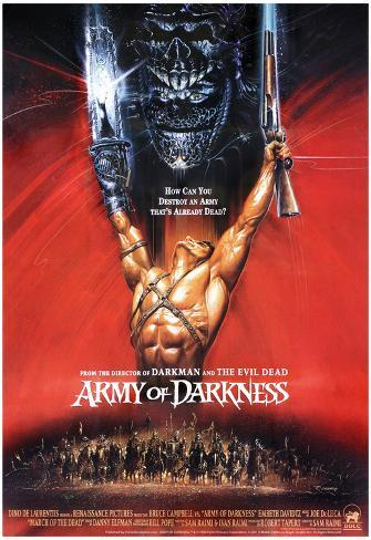 Army of Darkness Movie Bruce Campbell Poster Print Poster