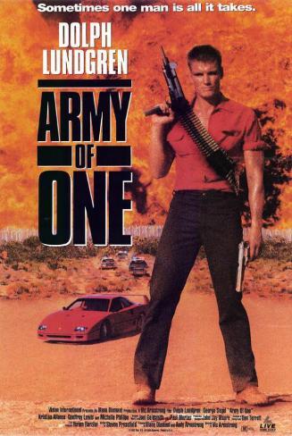 Army of One Masterprint