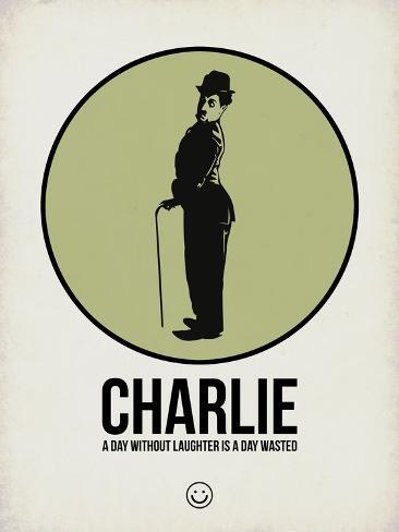 Charlie 1 Cartel de plástico