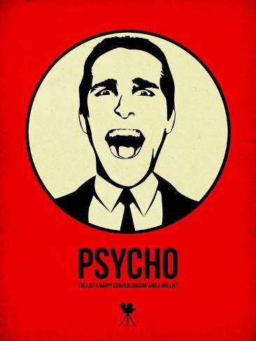 Psycho 1 Art Print