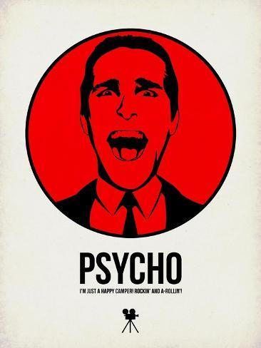Psycho 2 Art Print