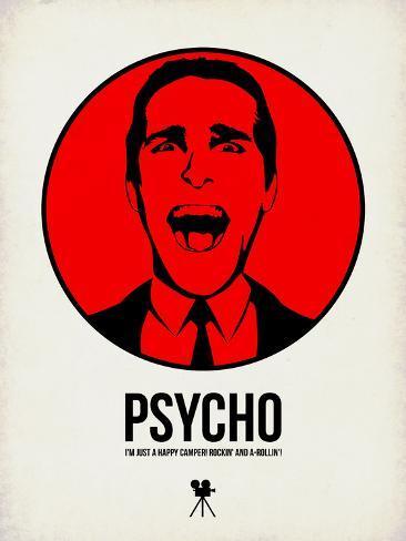 Psycho 2 Plastic Sign