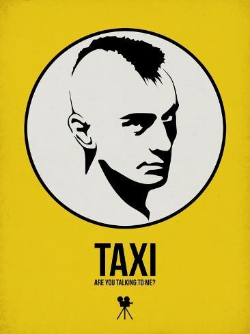 Taxi 1 Art Print