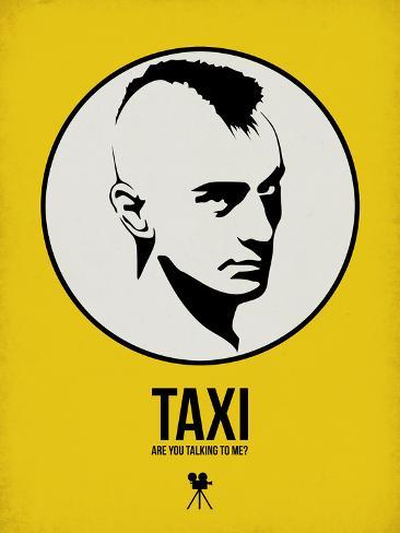 Taxi 1 Plastic Sign