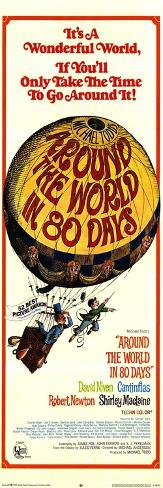 Around the World in 80 Days, 1968 Konstprint