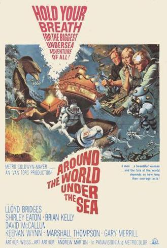 Around the World Under the Sea Pôster