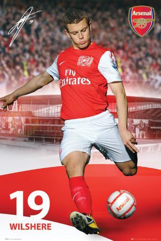 Arsenal-Wilshere Poster