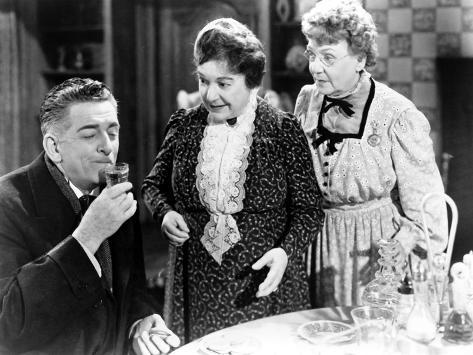 Arsenic And Old Lace, Edward Everett Horton, Josephine Hull, Jean Adair, 1944 Photo