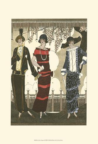 Art Deco Elegance II Art Print