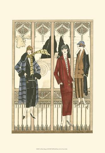 Art Deco Elegance III Art Print