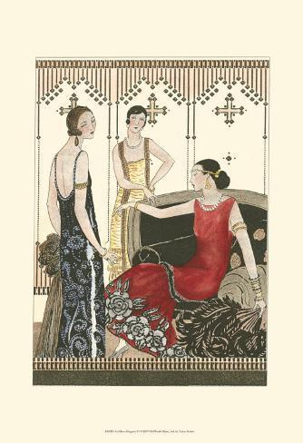 Art Deco Elegance IV Art Print