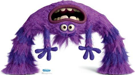 Art - Disney Pixar Monsters University Lifesize Standup Cardboard Cutouts