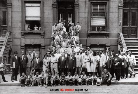 Jazz Portrait - Harlem, New York, 1958 Art Print