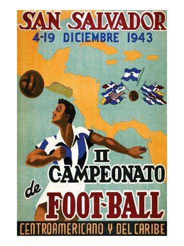 Il Campeonato De Foot-Ball Art Print