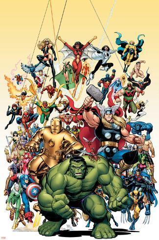 Avengers Classics No.1 Cover: Hulk Poster