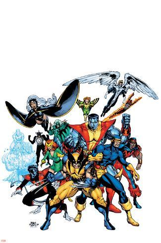 Marvel Legends: Arthur Adams TPB Cover: Wolverine Poster