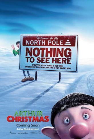 Arthur Christmas Masterprint