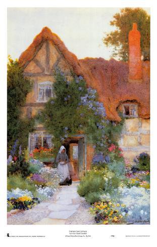Outside the Cottage Impressão artística