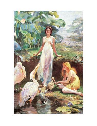 Victorian Fantasy Art Print
