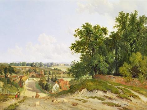 Henley on Thames Giclee Print