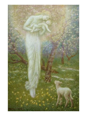 Little Lamb, who made thee? Giclee Print