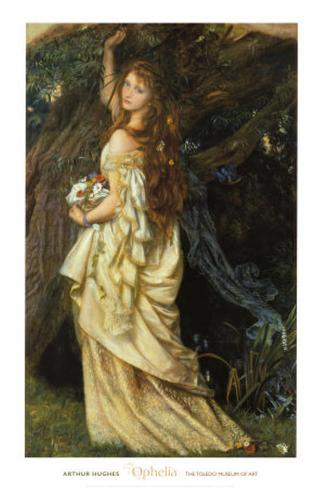 Ophelia and He Will Not Come Again, 1863-64 Lámina