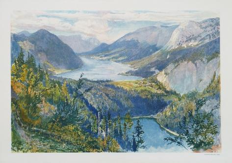 View of Grundlsee Collectable Print