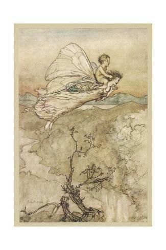 Image result for arthur rackham fairies