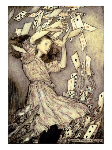 Illustration from 'Alice's Adventures in Wonderland' by Lewis Carroll Giclee Print