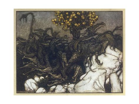 The Hesperides Stampa giclée