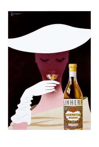 Linherr Vermouth Poster Art Print