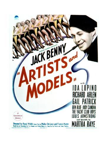 Artists and Models - Movie Poster Reproduction Art Print