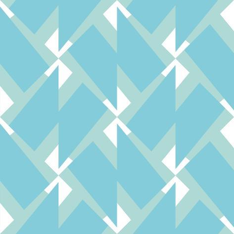 Abstract Retro Pattern. Vector Illustration. Art Print