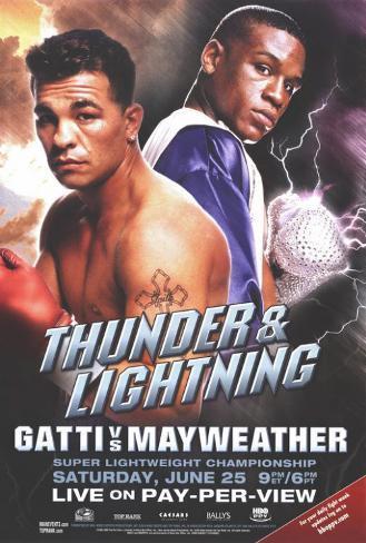 Arturo Gatti vs. Floyd Mayweather Masterprint