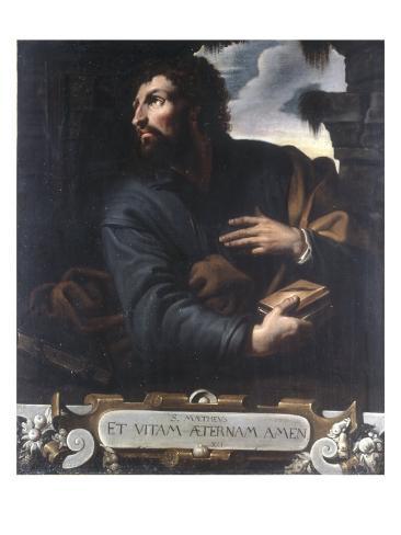 Saint Matthew Stretched Canvas Print