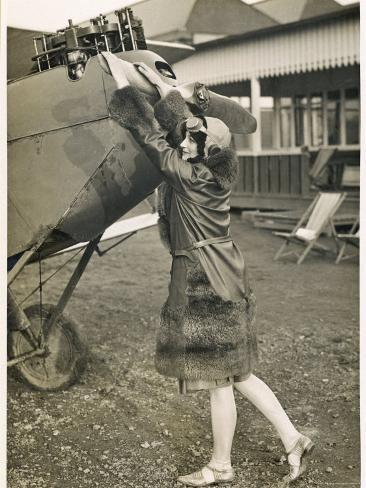 As Flying Becomes a Popular Pastime More Women Participate Photographic Print