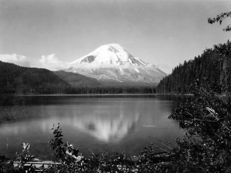 Mount St. Helens, Circa 1925 Giclee Print