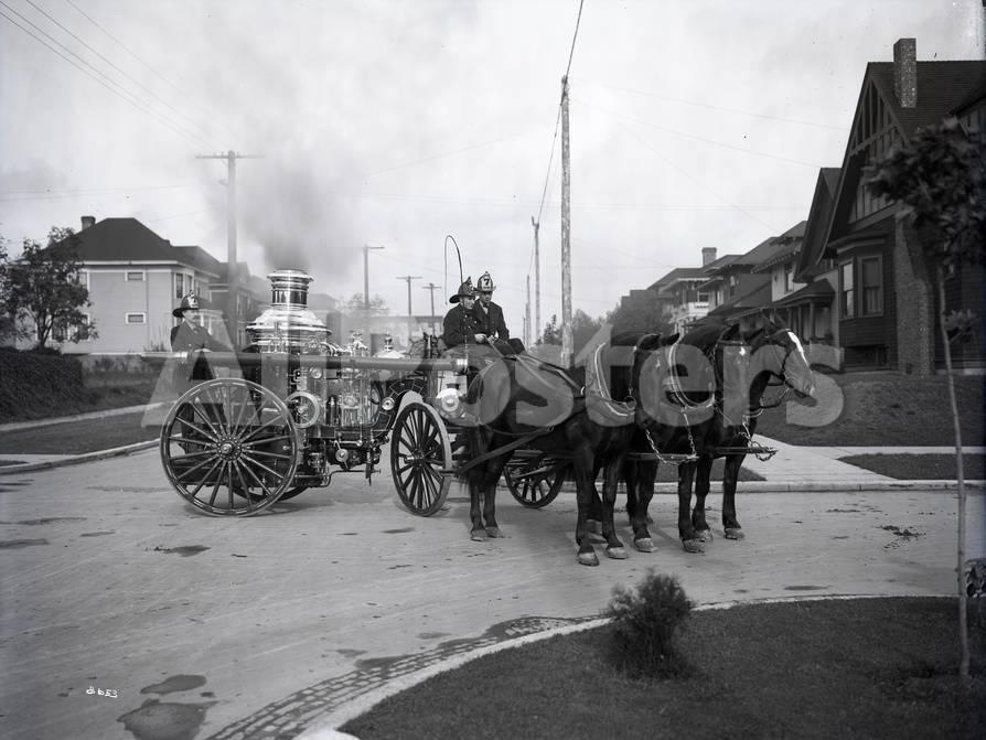オールポスターズの ashael curtis seattle fire department horse