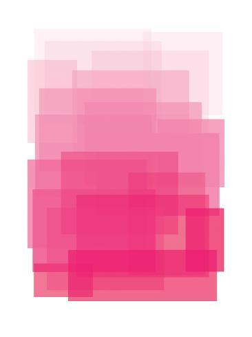 Pink Ombre Art Print