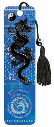 Asian Dragon Beaded Bookmark Bookmark